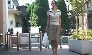 Japanese mom craving that hard cock on camera