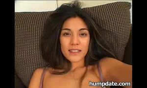 Sexy brunette asian gets double penetrated xVideos