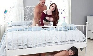 Stepdad sneakily fucking his little princess