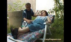 pregnant lady has her naked body massaged xVideos
