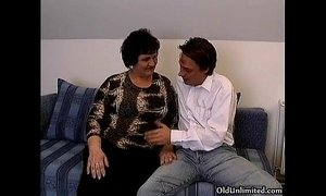 Fat old grandma gets her ass fucked xVideos
