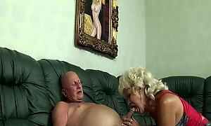 Grandma is a greedy slut!