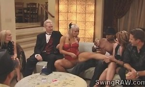 Blonde hottie Kimberly turns slutty in swinger partyichael-and-Kimberly-1 xVideos