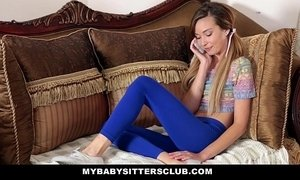 MyBabySittersClub - Skinny Baby Sitter Caught Making Out With Her BF xVideos