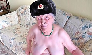 Amateur Granny Slideshow Photos Collection