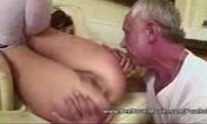 Asslicking 18 years Old with Grandpa xVideos
