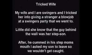 Stepmom Tricked! Unknowingly Sucks Stepsons Cock At Gloryhole xVideos