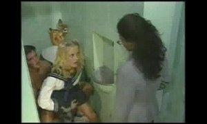 Erika Bella - Sex in the School Bathroom