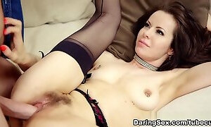 Handsome carroty mom is makeing dude cum