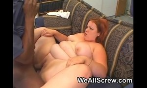 Pretty BBW takes a big black cock xVideos