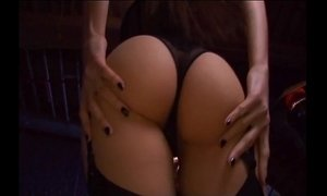 Deepthroating and sex in stockings and a garter xVideos