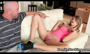Dad and Teen Step Daughter Fuck - FamilyStroking,com xVideos