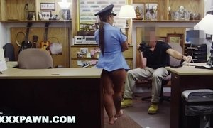 Sean Lawless Fucks Ms. Police Officer In Backroom AnalDin