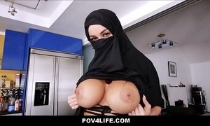 Busty Arabic Teen Violates Her Religion - Full Video: xxxmilf.pro xVideos