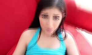 Doggstyle teen creampied