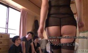 Subtitled Japanese AV star Tsubaki Katou gokkun party xVideos