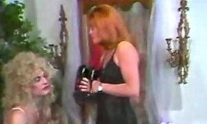 Transformed into a blonde slut girl