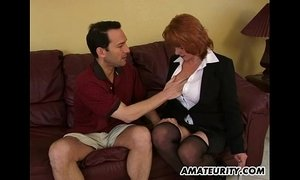 Busty amateur Milf sucks and fucks with cumshot xVideos