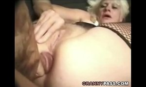 Barbie Face Granny Does Anal With Big Cock xVideos