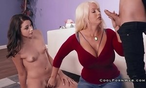 Alura jenson teaches step daughter how to suck xVideos