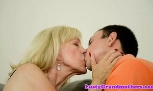 Euro grandma banged hard and jizzed in mouth xVideos