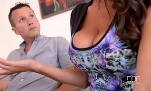 Threesome Therapy - Busty Goddess Sensual Jane Fucked By Doctor And Husband xVideos