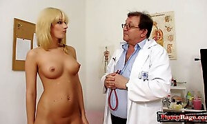 Nasty gyno doctor and my wife