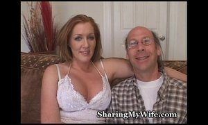 Wussy Hubby Shares Hot Wifey xVideos