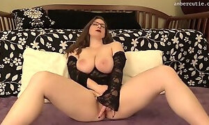 Ambercutie fingers only for cum hd