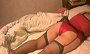 Black Stockings, Red Panties