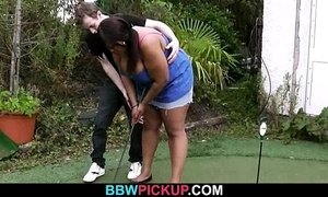 Slim white guy nails huge black fattie from behind xVideos