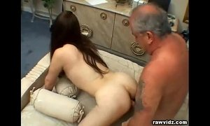 Teen Elisa Rides Old Dude's Dick xVideos