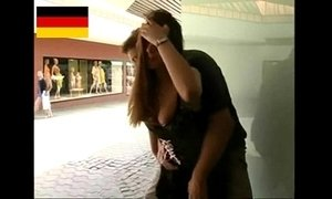 German Teen fucks in the public xVideos