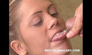 Dynamite has her throat and asshole gaped by a thick cock xVideos